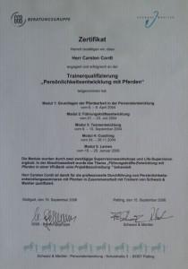 Horsemanship-Zertifikat2006